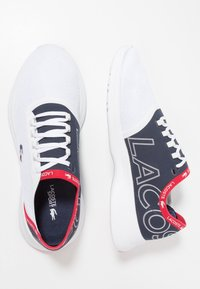 Lacoste - FIT - Trainers - white/navy/red - 1
