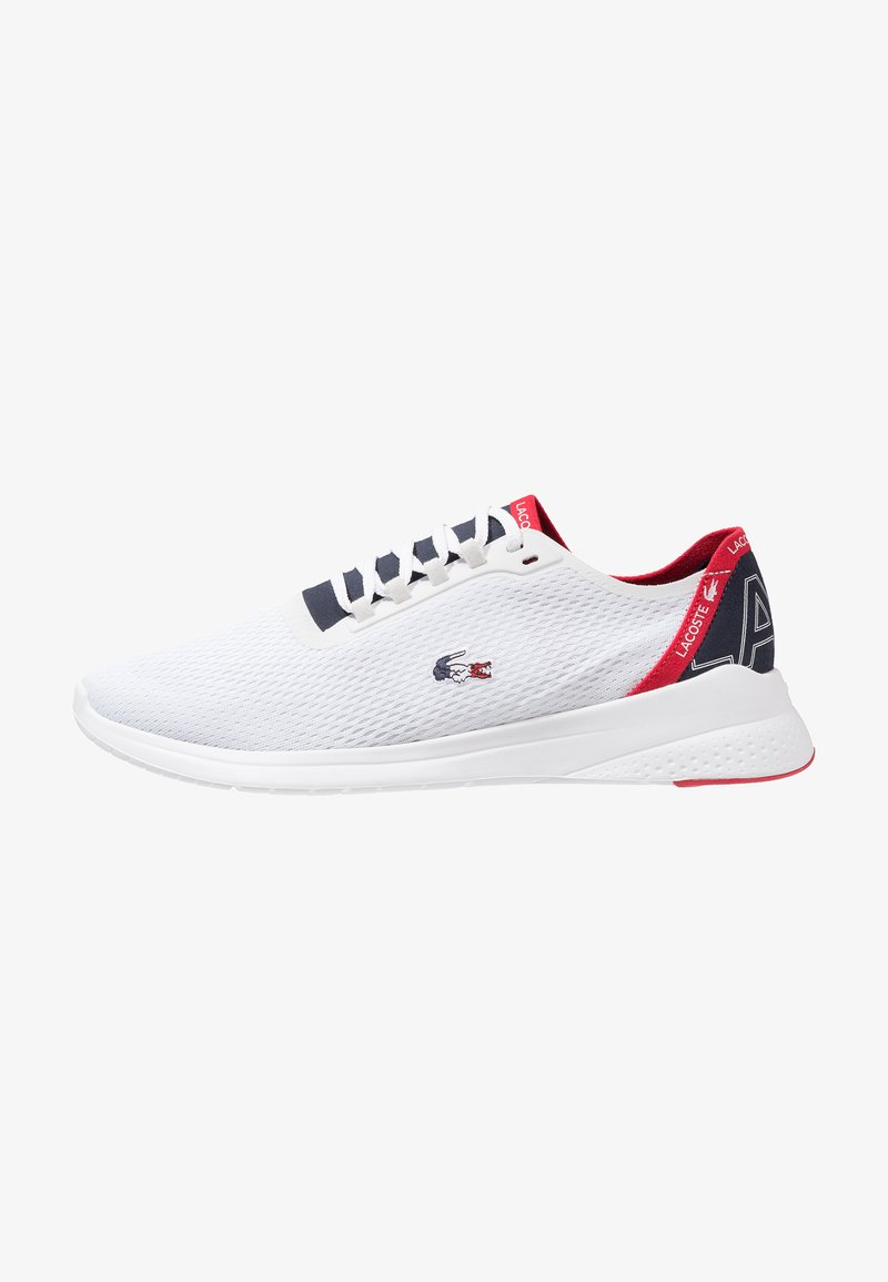 Lacoste - FIT - Trainers - white/navy/red
