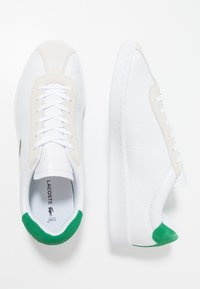 Lacoste - MASTERS - Sneakersy niskie - white/green - 1