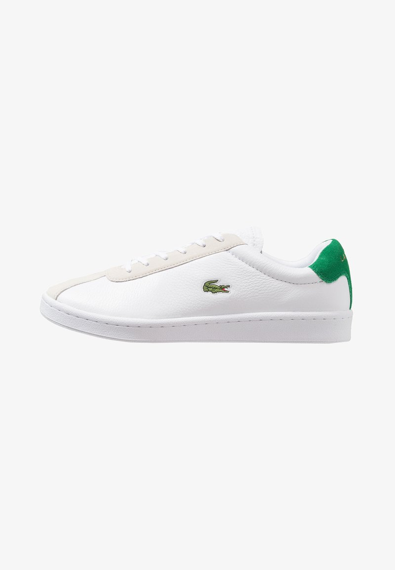 Lacoste - MASTERS - Sneakersy niskie - white/green