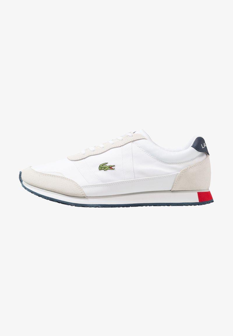 Lacoste - PARTNER - Sneaker low - white/navy/red