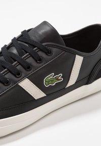 Lacoste - SIDELINE - Sneakersy niskie - black - 5