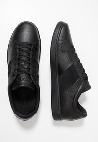 Lacoste - CARNABY EVO - Sneakers laag - black - 1