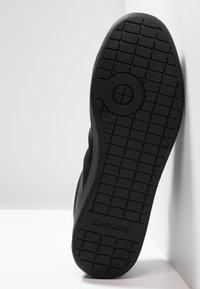 Lacoste - CARNABY EVO - Sneakers basse - black - 4