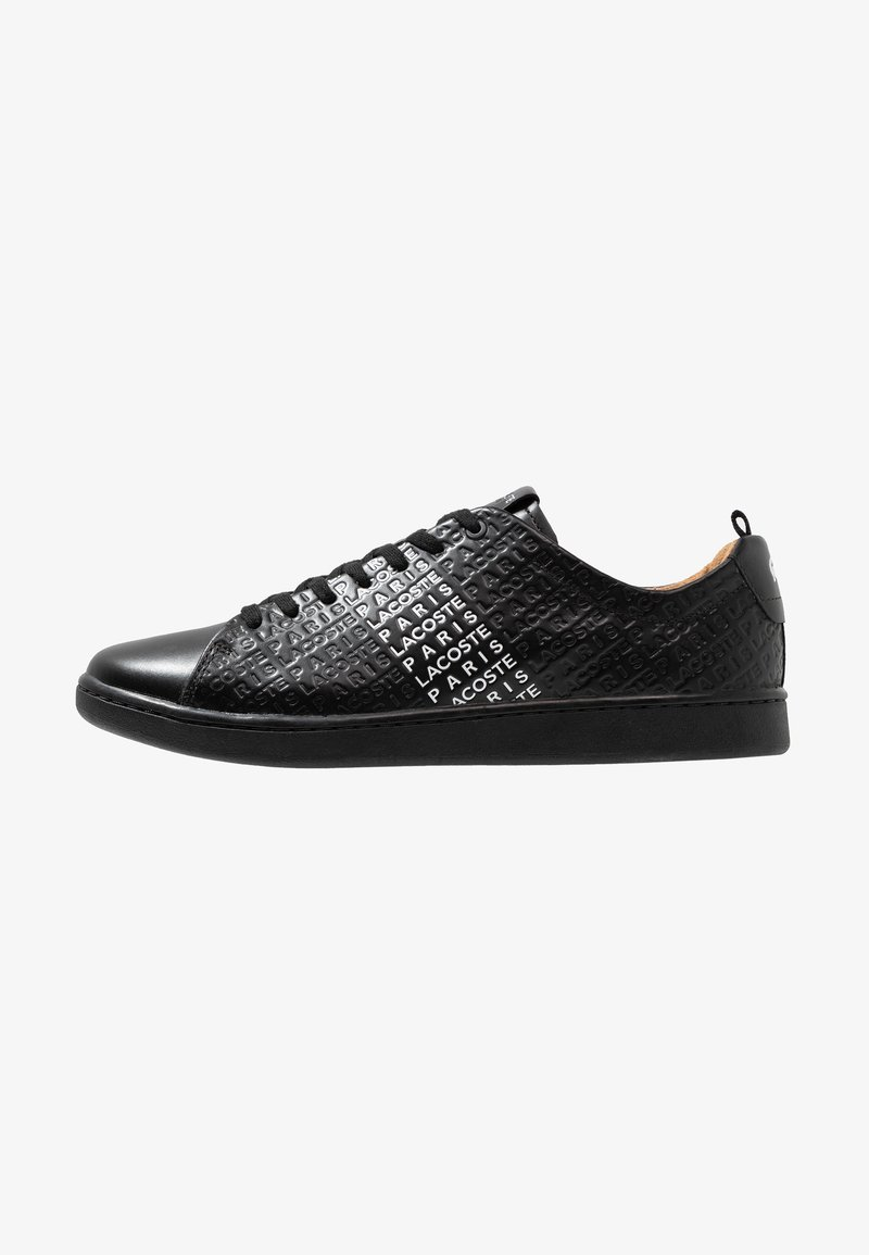 Lacoste - CARNABY EVO - Trainers - black/white