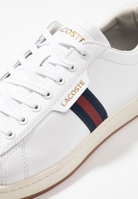 Lacoste - CARNABY EVO - Sneakers basse - white/navy/red - 5