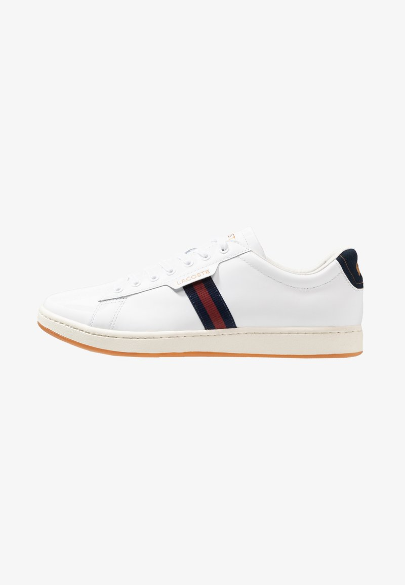 Lacoste - CARNABY EVO - Sneakers basse - white/navy/red