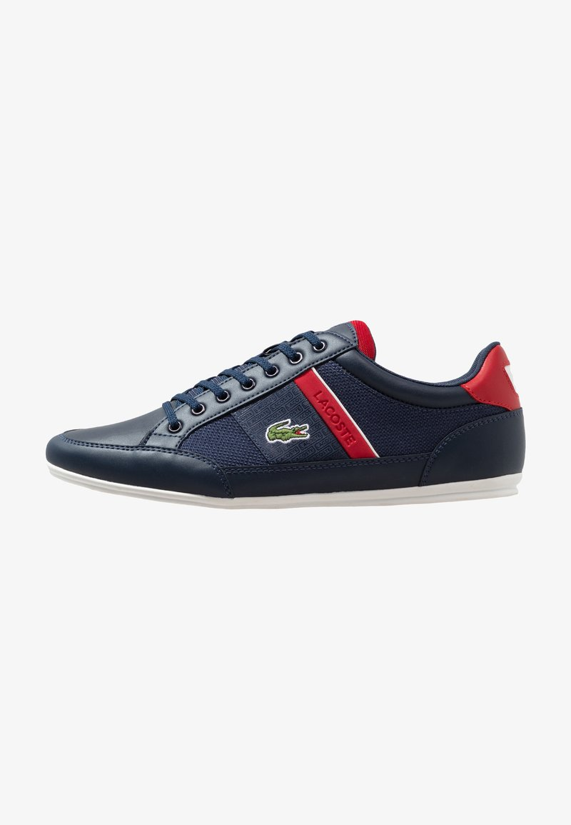 Lacoste - CHAYMON - Sneakers basse - navy/red