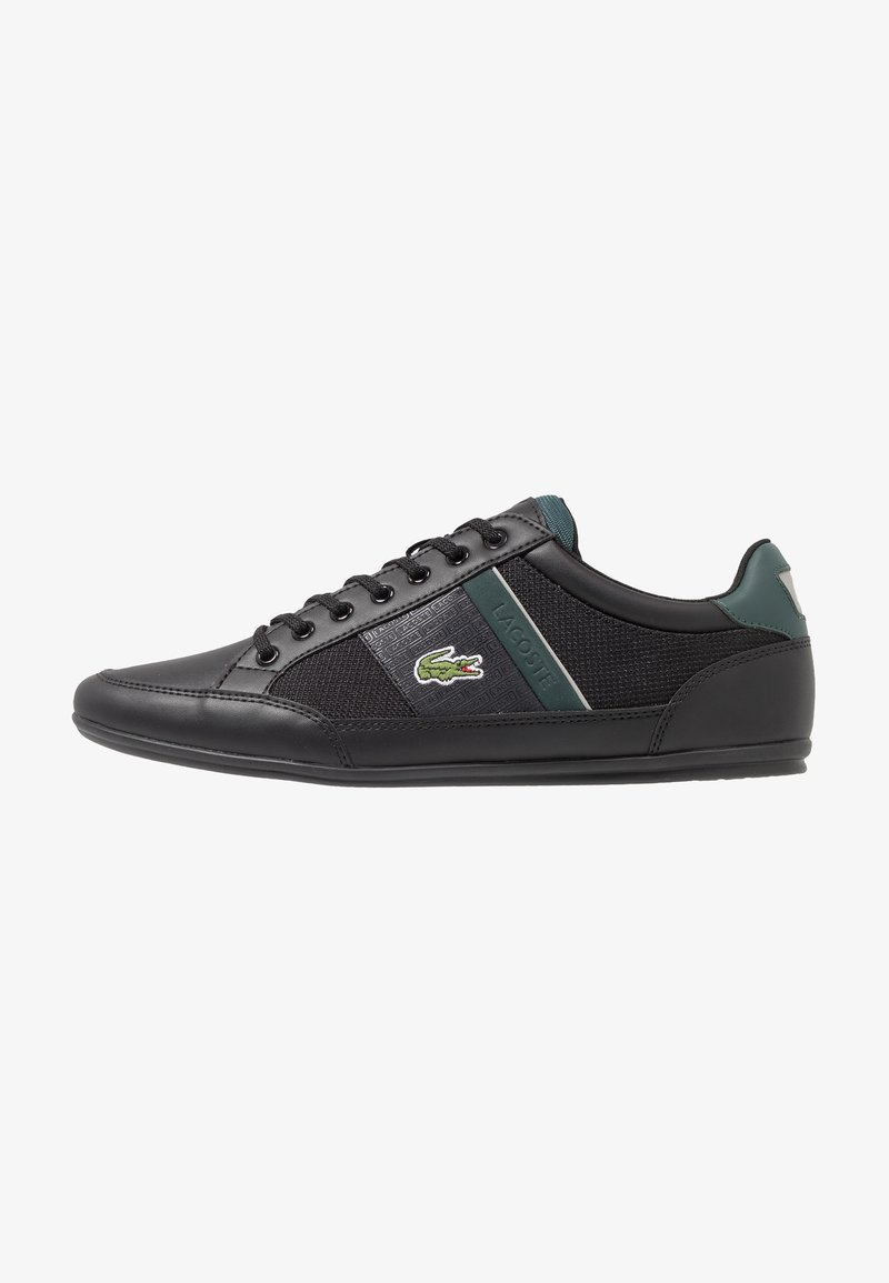 Lacoste - CHAYMON - Trainers - black/dark green
