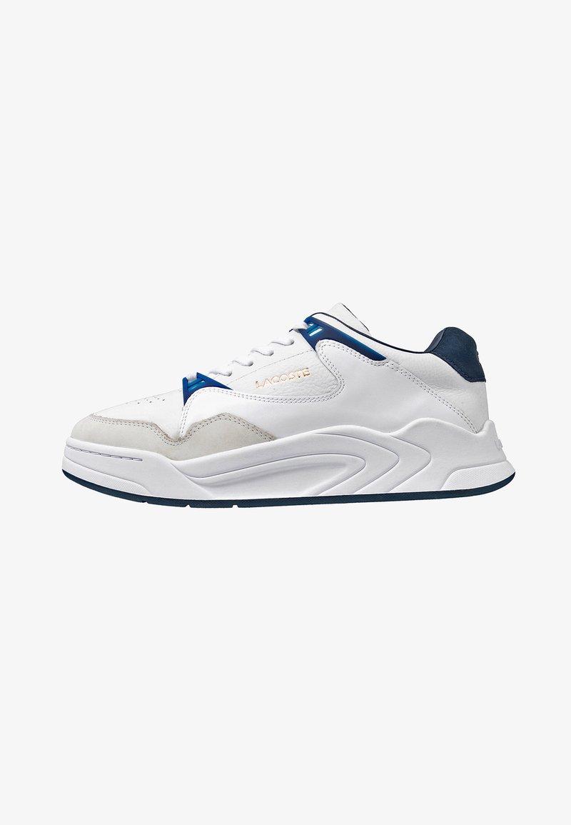 Lacoste - COURT SLAM - Baskets basses - white/navy