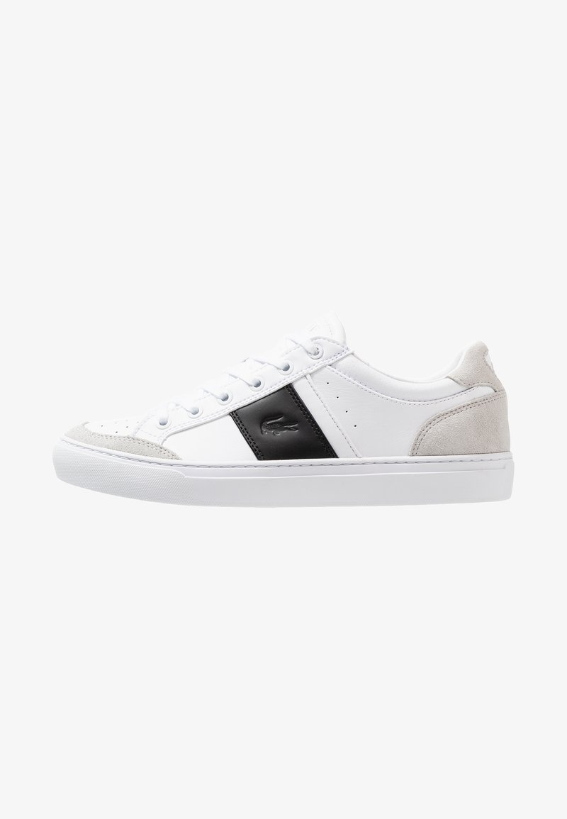 Lacoste - COURTLINE - Trainers - white/black