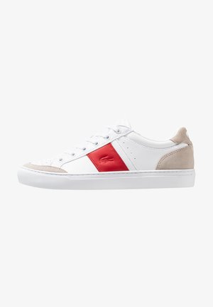 COURTLINE - Joggesko - white/red