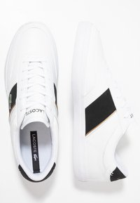 Lacoste - COURT MASTER - Sneakers basse - white/black - 1