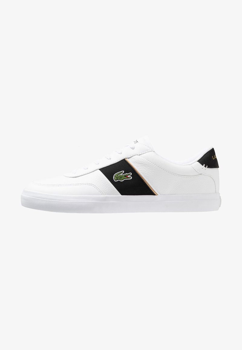 Lacoste - COURT MASTER - Sneakers basse - white/black
