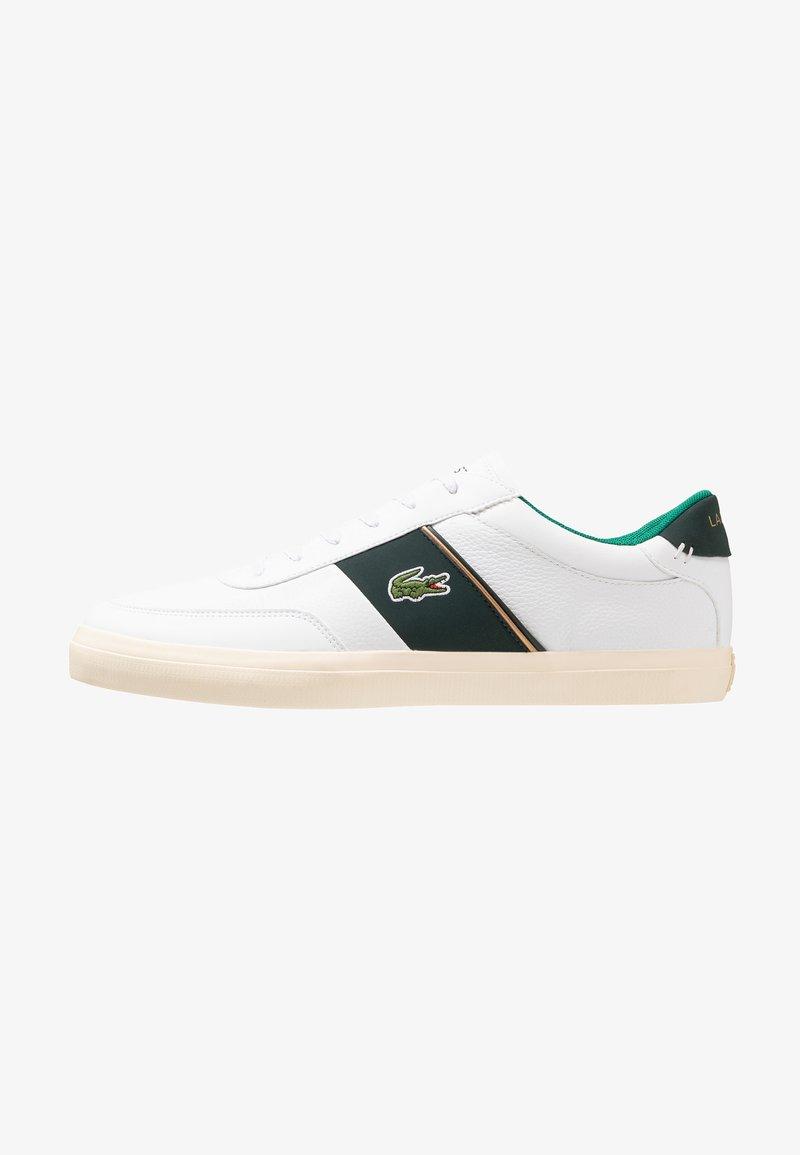 Lacoste - COURT MASTER - Sneakers - white/dark green