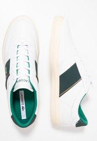 Lacoste - COURT MASTER - Sneakers - white/dark green - 1