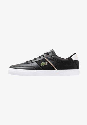 COURT MASTER - Sneakersy niskie - black/white