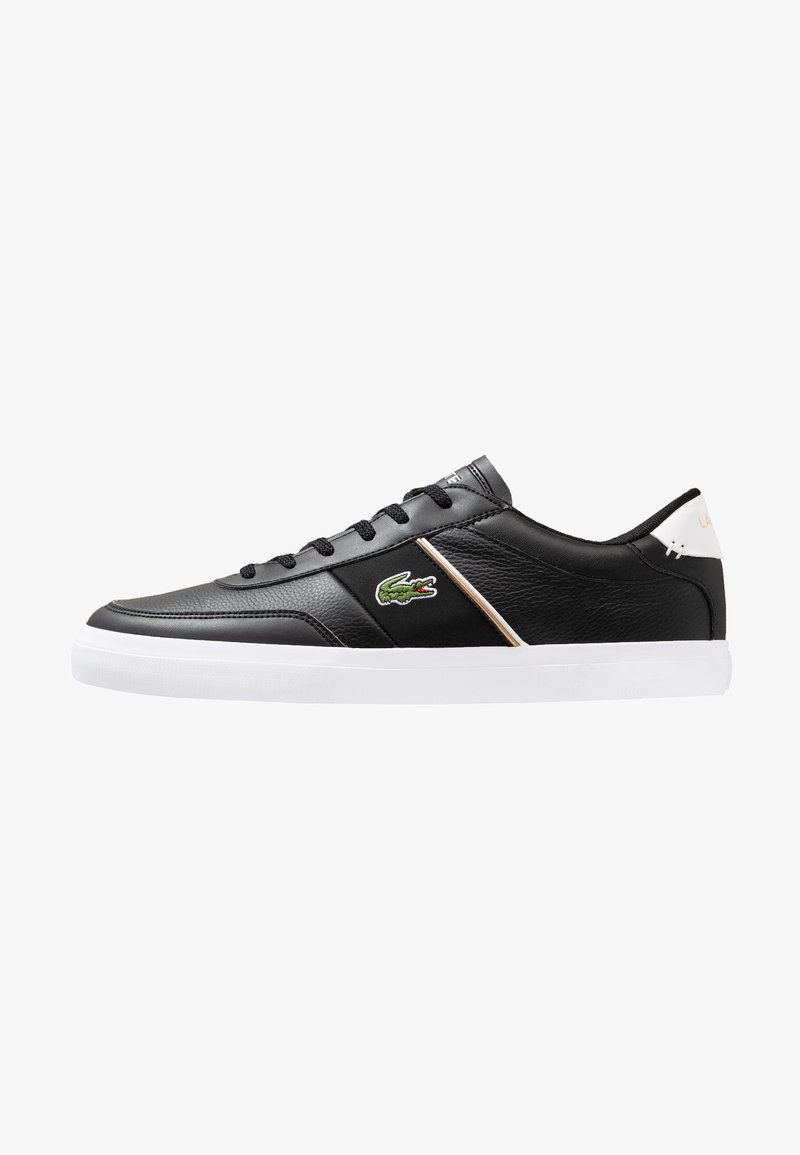 Lacoste - COURT MASTER - Sneakers basse - black/white