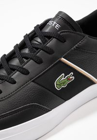 Lacoste - COURT MASTER - Sneakers laag - black/white - 5