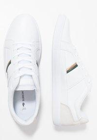 Lacoste - EUROPA - Joggesko - white/dark green - 1