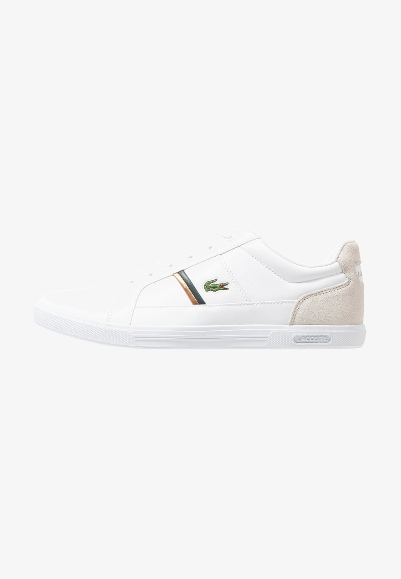 Lacoste - EUROPA - Trainers - white/dark green