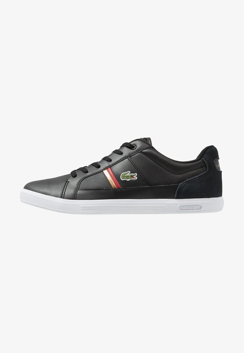 Lacoste - EUROPA - Baskets basses - black/red