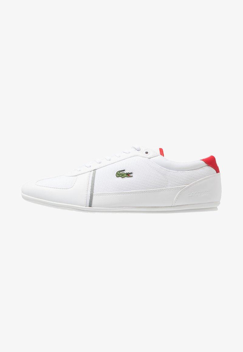 Lacoste - EVARA SPORT - Zapatillas - white/red