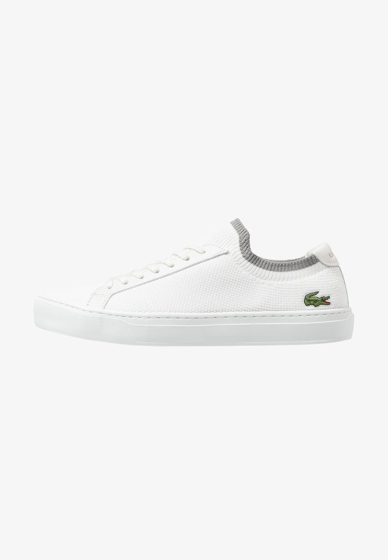 Lacoste - LA PIQUEE - Trainers - offwhite/grey