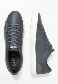 Lacoste - LEROND - Sneakers laag - dark grey/offwhite - 1