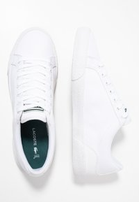 Lacoste - LEROND - Sneakers basse - white - 1