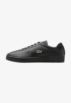 MASTERS - Sneakers basse - black