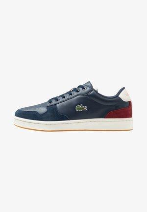MASTERS CUP - Sneakersy niskie - navy/offwhite/dark red