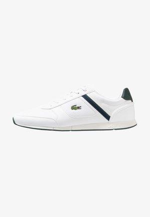 MENERVA SPORT - Sneakers basse - white/dark green