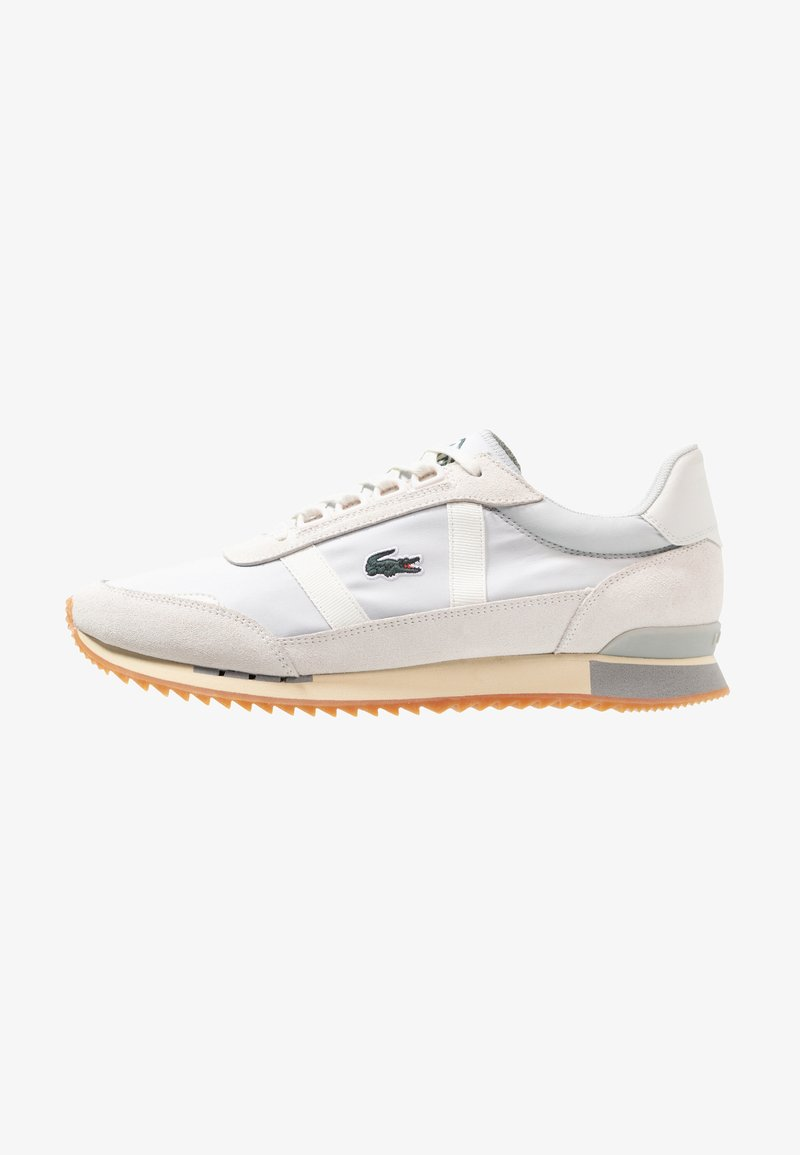 Lacoste - PARTNER RETRO - Trainers - light grey/offwhite