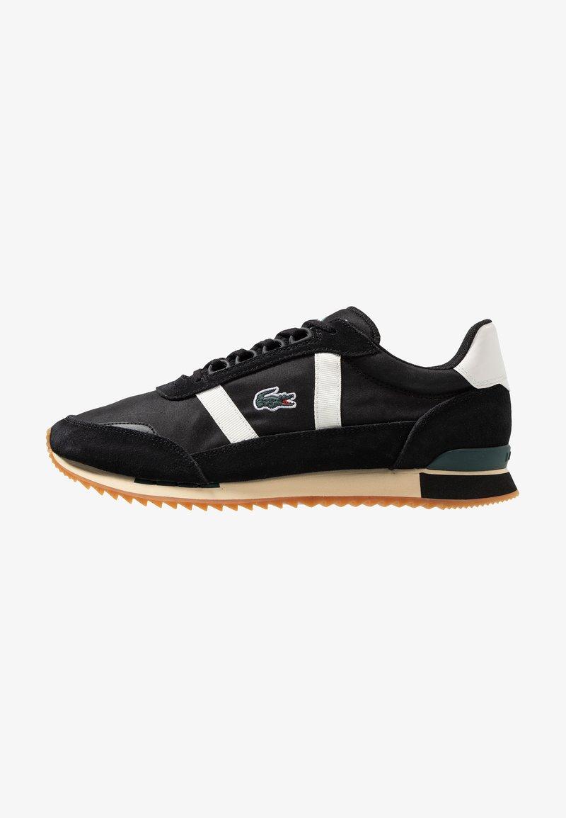Lacoste - PARTNER RETRO - Sneakers basse - black/offwhite