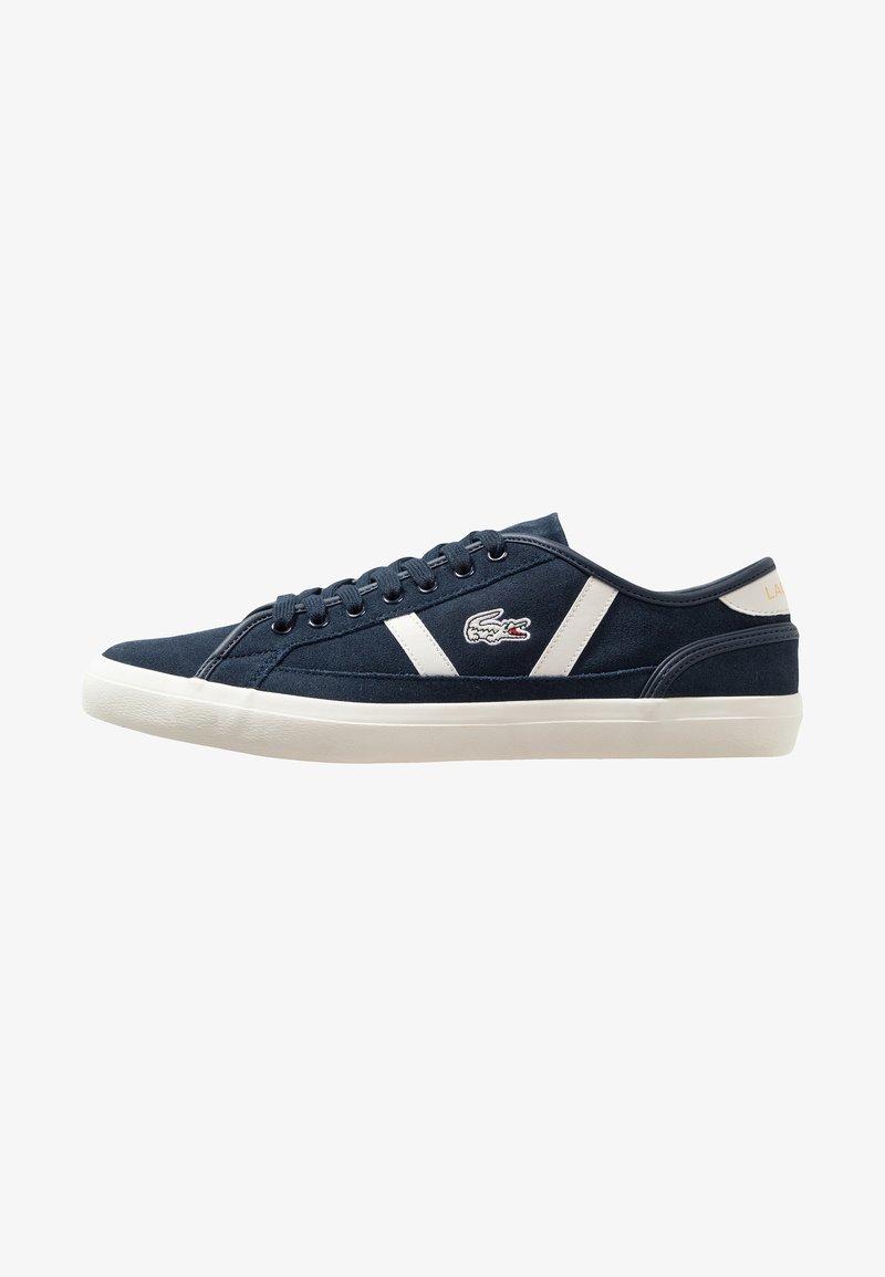 Lacoste - SIDELINE - Sneakersy niskie - navy/offwhite