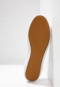 Lacoste - SIDELINE - Sneakers - white/dark green - 4