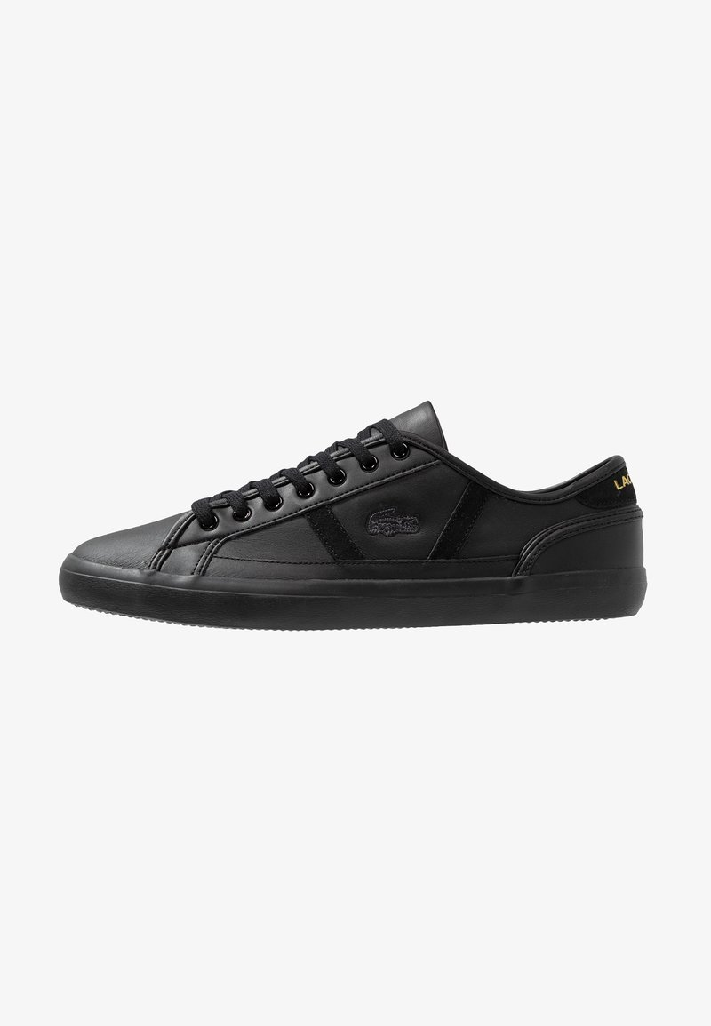 Lacoste - SIDELINE - Trainers - black/gold
