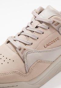 Lacoste - COURT SLAM - Baskets basses - grey - 5