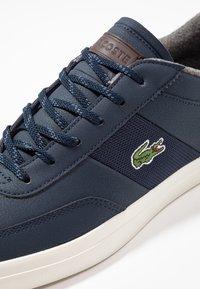 Lacoste - COURT MASTER - Sneakersy niskie - navy/dark blue - 5