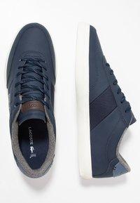 Lacoste - COURT MASTER - Sneakersy niskie - navy/dark blue - 1