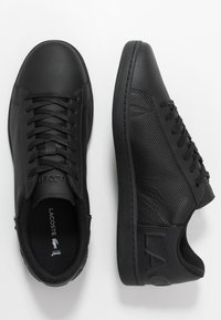 Lacoste - CARNABY EVO - Trainers - black - 1