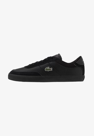 COURT MASTER - Sneakers basse - black