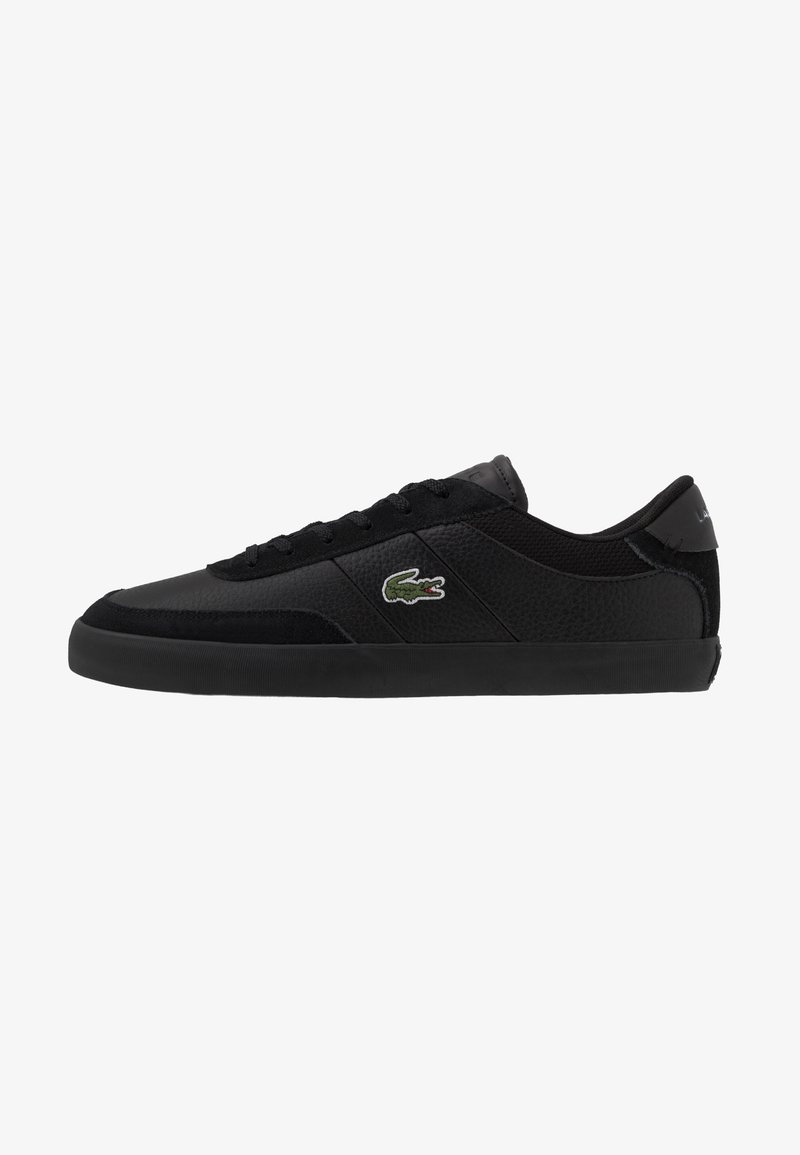 Lacoste - COURT MASTER - Sneakers laag - black