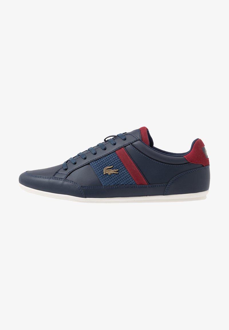 Lacoste - CHAYMON - Sneakersy niskie - navy/dark red