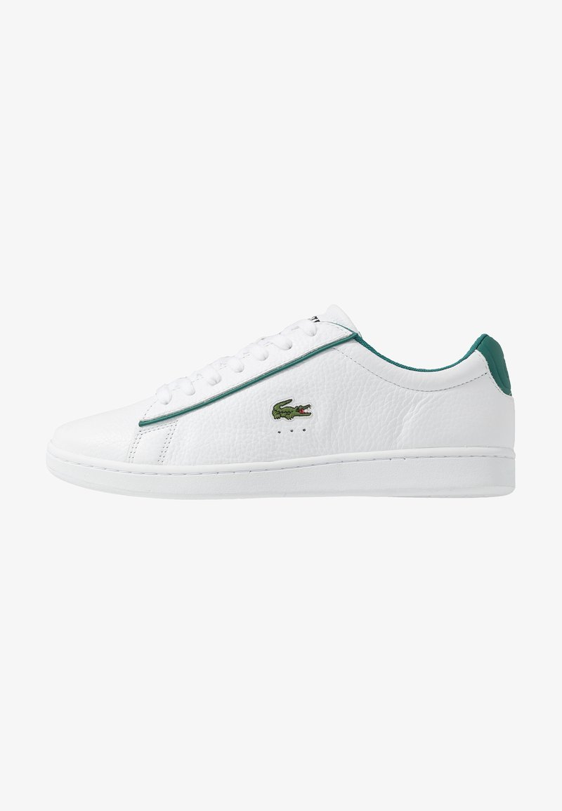 Lacoste - CARNABY EVO - Sneakers basse - white/green