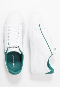 Lacoste - CARNABY EVO - Sneakers basse - white/green - 1