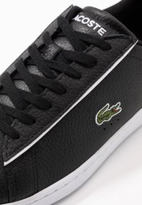 Lacoste - CARNABY EVO - Sneakers - black/white - 5