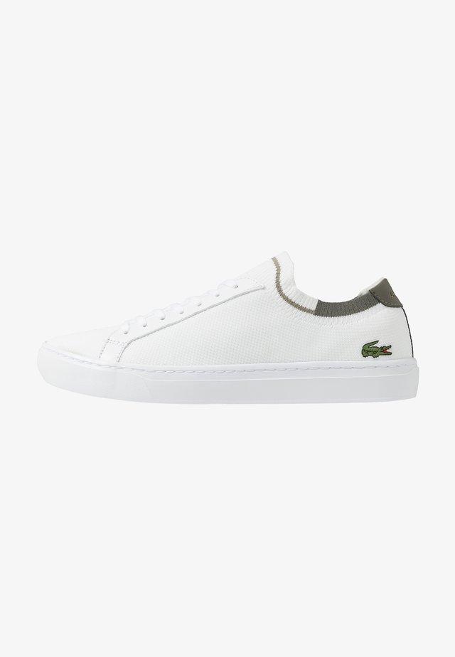 LA PIQUEE - Tenisky - white/khaki