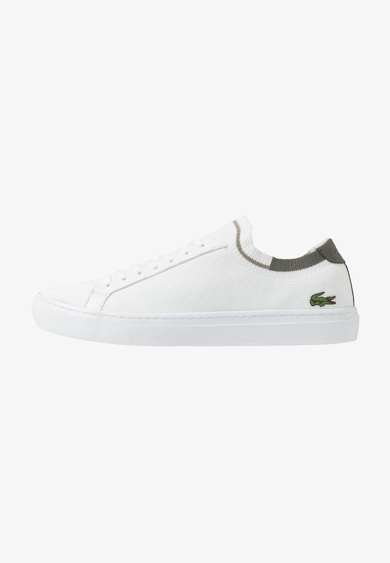 Lacoste - LA PIQUEE - Sneakers - white/khaki